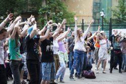 """Фотографии с фестиваля """"Этнопланета-2013"""" (Москва) 8 июня 2013.  Фото KALIMBA"""