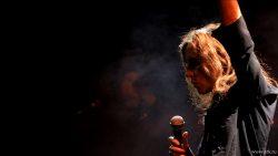 """Ольга Арефьева и """"Ковчег"""". Концерт в клубе """"Б2"""" (Москва) 8 мая 2014."""