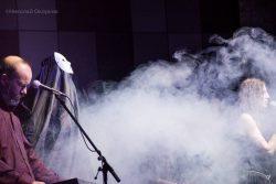 """Ольга Арефьева и Ковчег - концерт-презентация альбома """"Время назад"""" в ЦДХ (Москва) 27 февраля 2015. Фото Николая Окоркова."""