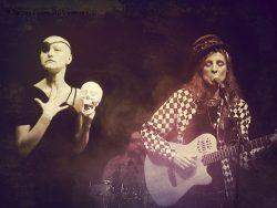 Ольга Арефьева и Ковчег - концерт в ЦДХ (Москва) 29 марта 2015. Фото Елены Басовой.