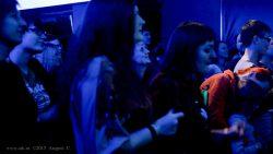"""Ольга Арефьева и """"Ковчег"""". Концерт в Нижнем Новгороде в клубе """"Premio"""" 30 октября 2015. Скриншот с видео. Оператор Андрей С."""