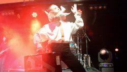 """Ольга Арефьева и """"Ковчег"""". Концерт в Нижнем Новгороде в клубе """"Premio"""" 30 октября 2015. Скриншот с видео. Оператор Сергей Вихарев"""
