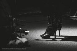 "Ольга Арефьева и ""Ковчег"". Концерт в ЦДХ (Москва) 24 сентября 2016. Фото: Мария Закуленкова"