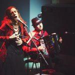 Ольга Арефьева и ''Шансон-Ковчег''. Концерт в ЦДХ 30 ноября 2014. Фото EugeniLis.