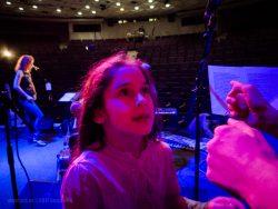 """Ольга Арефьева и """"Ковчег"""". Концерт в ЦДХ (Москва) 19 ноября 2017. Backstage. Фото: Андрей С."""