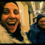 """Ольга Арефьева и """"Ковчег"""". Концерт в ЦДХ (Москва) 19 ноября 2017. Backstage. С Леной Калагиной. Фото: Андрей С."""