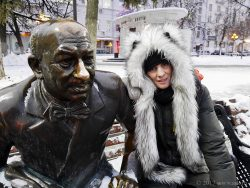 Ольга Арефьева в Нижнем Новгороде 22 декабря 2017