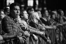 """Ольга Арефьева и """"Ковчег"""". Концерт в ГлавClub 15 июня 2018. Фото: Георгий Сухов"""