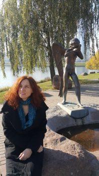 Ольга Арефьева в Минске 17 октября 2018