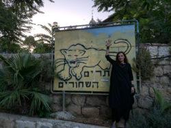 Ольга Арефьева в Израиле, май-июнь 2019