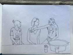 Ладога, июль 2020 г. Рисунок ОА