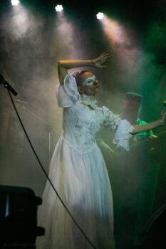 "Ольга Арефьева и ""Ковчег"". Концерт в Mezzo Forte. 21 марта 2021. Фото: Дина Журавлёва"