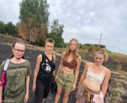 Деревня Запрудье (Владимирская обл.) 31 июля 2021